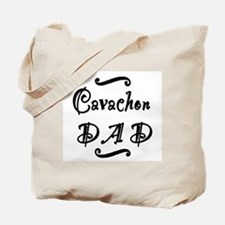 Cavachon DAD Tote Bag
