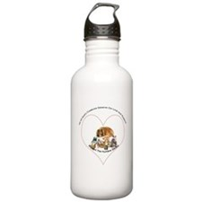 Humane Society Support Water Bottle