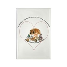 Humane Society Support Rectangle Magnet