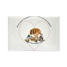Humane Society Support Rectangle Magnet (10 pack)