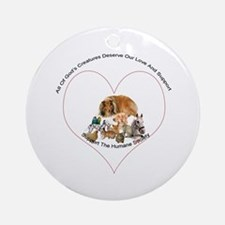 Humane Society Support Ornament (Round)