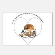 Humane Society Support Postcards (Package of 8)