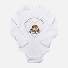 Humane Society Support Long Sleeve Infant Bodysuit
