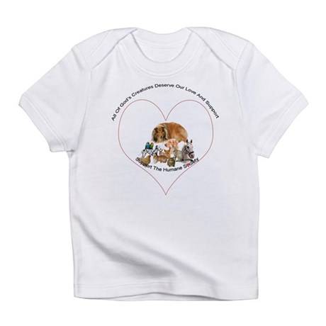 Humane Society Support Infant T-Shirt