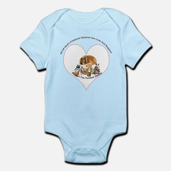 Humane Society Support Infant Bodysuit