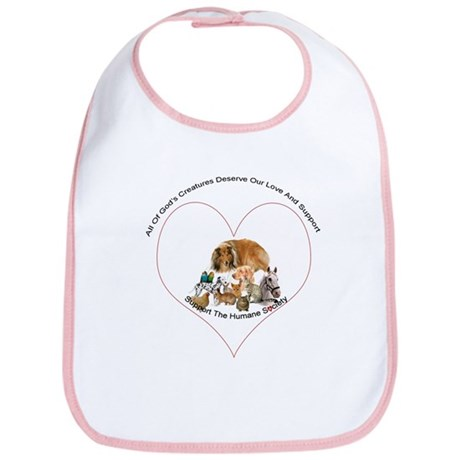 Humane Society Support Bib