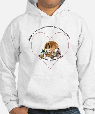 Humane Society Support Hoodie