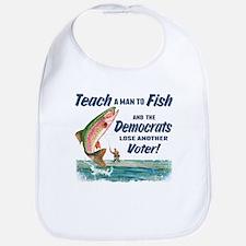 Teach a Man to Fish Bib