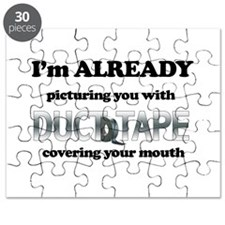 Duct Tape Humor Puzzle