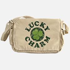 Lucky Charm [shamrock] Messenger Bag