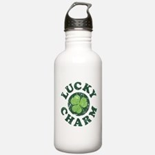 Lucky Charm [shamrock] Water Bottle