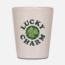Lucky Charm [shamrock] Shot Glass