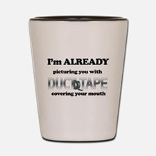 Duct Tape Humor Shot Glass