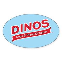 Team DINOS Logo Decal