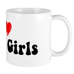 I Heart Derby Girls Mug