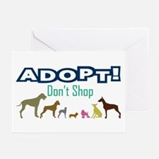 Adopt Don't Shop Greeting Cards (Pk of 10)