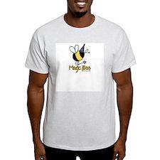 Magic Bee Ash Grey T-Shirt