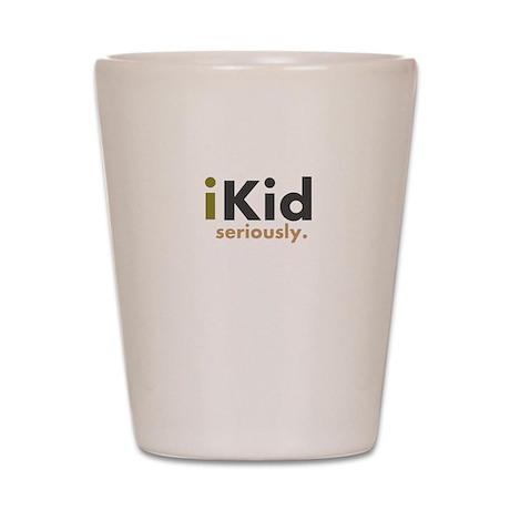iKid Shirts & Merchandise Shot Glass