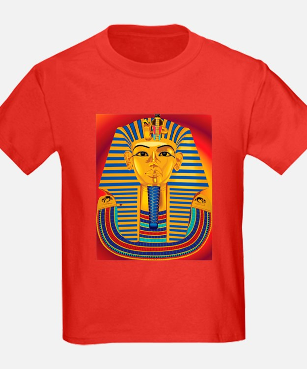 Tut Mask on Red T
