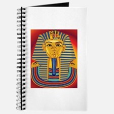 Tut Mask on Red Journal
