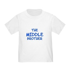 The Middle Brother Toddler Tee