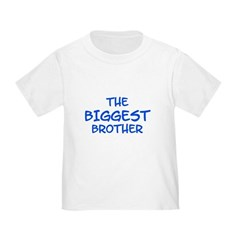 The Biggest Brother Toddler Tee
