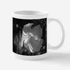 B&W Hibiscus Mug