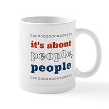 it's about people, people Mug