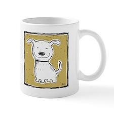 Cute Dog (green) Mug