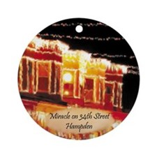 Miracle on 34th Street Hampden Baltimore Ornament