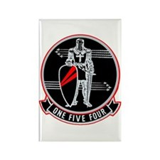 VF 154 Black Knights Rectangle Magnet