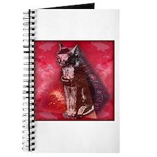Cute Egyptian cat Journal