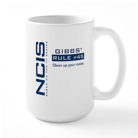 NCIS Gibbs' Rule #45 Large Mug