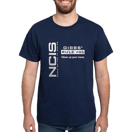 NCIS Gibbs' Rule #45 Dark T-Shirt