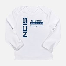 NCIS Gibbs' Rule #45 Long Sleeve Infant T-Shirt