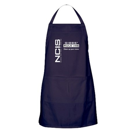 NCIS Gibbs' Rule #45 Apron (dark)