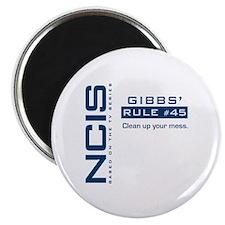 NCIS Gibbs' Rule #45 Magnet