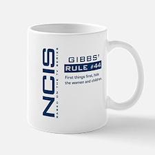 NCIS Gibbs' Rule #44 Mug