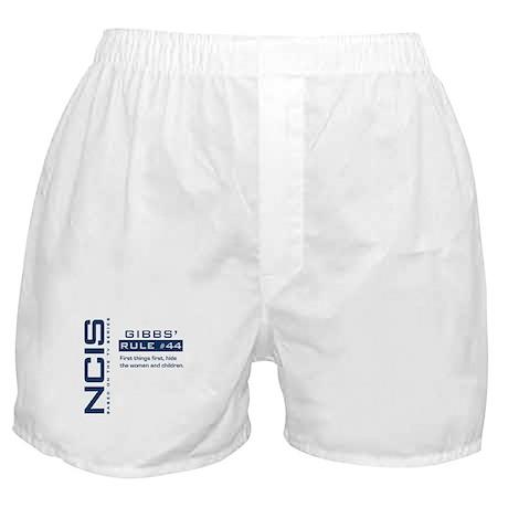 NCIS Gibbs' Rule #44 Boxer Shorts