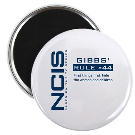 NCIS Gibbs' Rule #44 Magnet