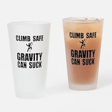 Climb Safe Drinking Glass