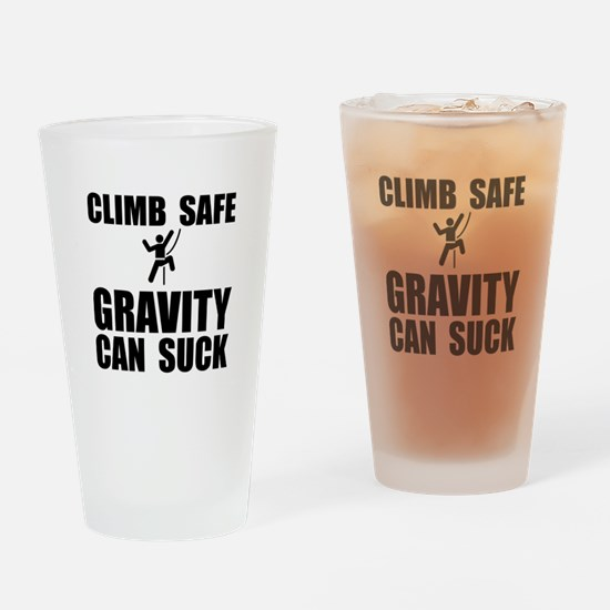 Climb Safe Drinking Glass