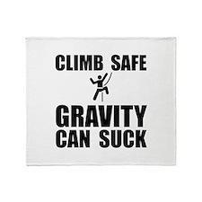 Climb Safe Throw Blanket