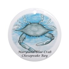 Chesapeake Bay Blue Crab Christmas Ornament