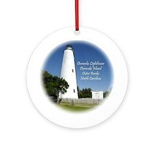 Ocracoke Island Lighthouse Christmas Ornament