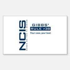 NCIS Gibbs' Rule #38 Decal