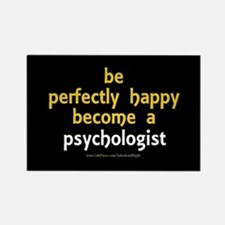 """""""Perfectly Happy Psychologist"""" Rectangle Magnet"""