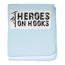 Heroes On Hooks baby blanket