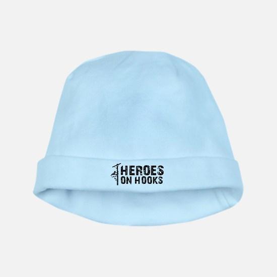 Heroes On Hooks baby hat