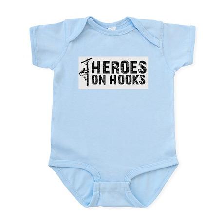Heroes On Hooks Infant Bodysuit
